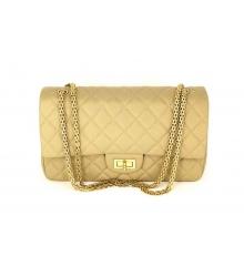 Женская сумка Chanel (Шанель) Medium Beige