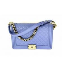 Женская сумка Chanel (Шанель) Medium Blue