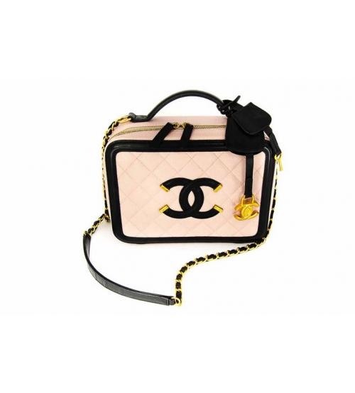 Женская сумка Chanel (Шанель) Pink\Red