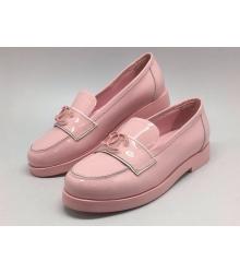 Женские лоферы Chanel (Шанель) Pink