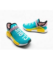 Женские кроссовки Adidas Originals X Chanel X (Шанель) Race NMD TR без шнуровки Blue