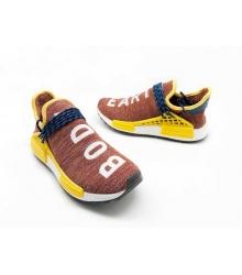 Женские кроссовки Adidas Originals X Chanel X (Шанель) Race NMD TR без шнуровки Bordo