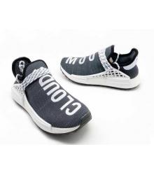 Женские кроссовки Adidas Originals X Chanel X (Шанель) Race NMD TR без шнуровки Grey