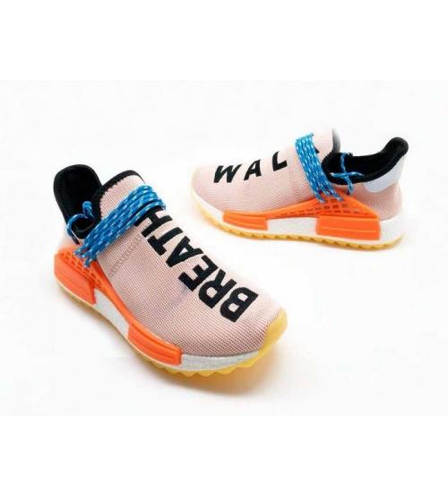 Женские кроссовки Adidas Originals X Chanel X (Шанель) Race NMD TR без шнуровки Pink