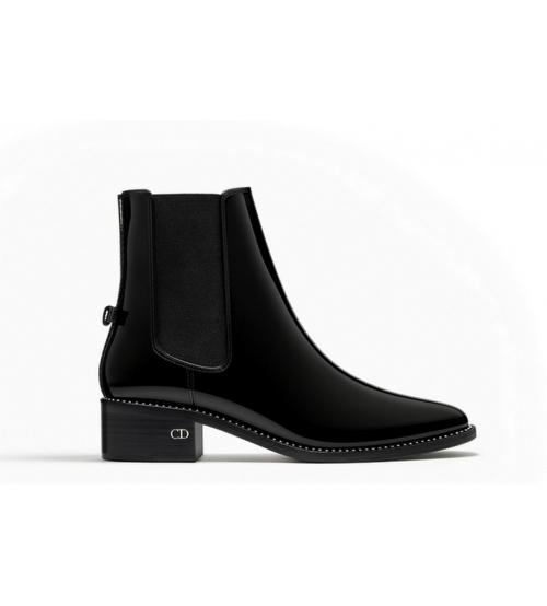 4e66e4cdadba Ботильоны Christian Dior (Кристиан Диор) Black - 19 750 руб ...