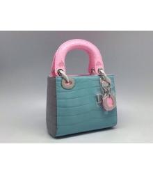 Сумка Christian Dior (Кристиан Диор) Blue/Pink
