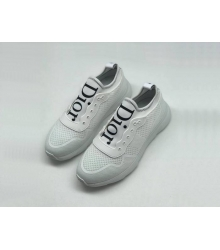 Женские кроссовки Christian Dior (Кристиан Диор) Cruise летние White