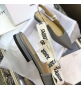 Женские балетки Christian Dior (Кристиан Диор) J`Dior с открытой пяткой каблук 0,5см Gray