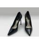 Женские туфли Christian Dior (Кристиан Диор) кожаные Black