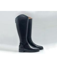 Женские сапоги Christian Dior (Кристиан Диор) кожаные высокие Black