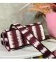 Женская сумка Christian Dior (Кристиан Диор) Lady D-Lite c традиционным узором Cannage Bordo