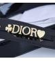 Женская сумка Christian Dior (Кристиан Диор) Lady Dior My ABCDior кожаная Black