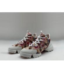 Женские кроссовки Christian Dior (Кристиан Диор) летние на шнурках Colored