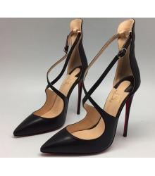 Женские лаковые туфли Christian Louboutin (Кристиан Лабутен) Black