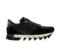 Кроссовки женские Dolce&Gabbana (Дольче Габбанна) Black/White