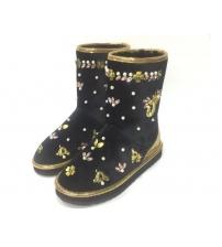 Женские угги Dolce&Gabbana (Дольче Габбана) Black
