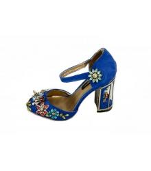 Туфли женские Dolce & Gabbana (Дольче Габбана) Blue