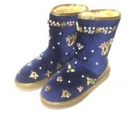 Угги женские Dolce&Gabbana (Дольче Габбана) Blue