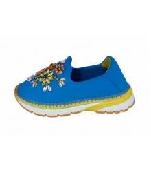 Женские эспадрильи Dolce & Gabbana (Дольче Габбана) Blue