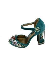 Туфли женские Dolce & Gabbana (Дольче Габбана) Green