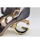 Женские босоножки Dolce&Gabbana (Дольче Габбана) летние каблук лого Gray