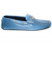 Мокасины Dolce & Gabbana (Дольче Габбана) Light Blue