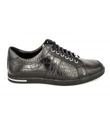 Мужские ботинки Dolce&Gabbana (Дольче Габбанна) Low Black