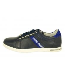 Кроссовки Dolce&Gabbana (Дольче Габбана) мужские New Blue