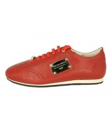Кроссовки Dolce&Gabbana (Дольче Габбана) мужские New Red