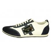Кроссовки Dolce&Gabbana (Дольче Габбана) мужские New White/Blue