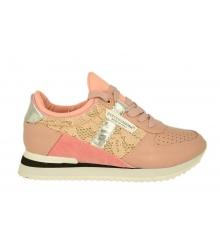 Женские кроссовки Dolce&Gabbana (Дольче Габбана) Pink