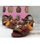 Босоножки Dolce&Gabbana (Дольче Габбана) плетеные с декором Beige