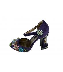Туфли женские Dolce & Gabbana (Дольче Габбана) Purple