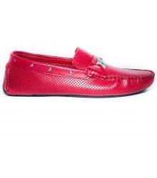 Мокасины мужские Dolce & Gabbana (Дольче Габбана) Red