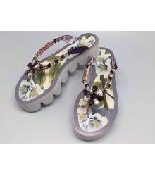 Шлепанцы женские Dolce&Gabbana (Дольче Габбана) White