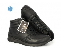 Ботинки зимние Ecco Biom (Экко Биом) Winter Full Black