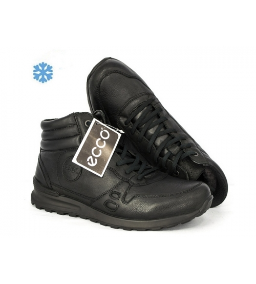 44049c2f2 Ботинки зимние Ecco Biom (Экко Биом) Winter Full Black - 7 990 руб ...