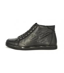 Осенние ботинки Emporio Armani (Эмпорио Армани) Black