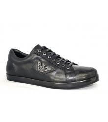 Ботинки мужские Emporio Armani (Эмпорио Армани) Low Black
