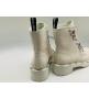 Женские ботинки Fendi (Фенди) FFreedom кожаные на шнуровке White