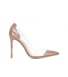 Женские туфли Gianvito Rossi (Джанвито Росси) кожаные Beige