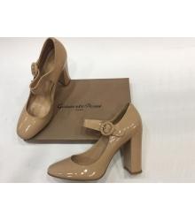 Женские туфли Gianvito Rossi (Джанвито Росси) лакированные Beige