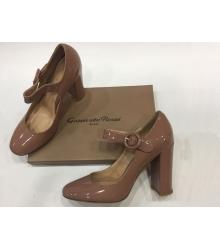 Женские туфли Gianvito Rossi (Джанвито Росси) лакированные Brown