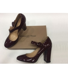 Женские туфли Gianvito Rossi (Джанвито Росси) лакированные Cherry
