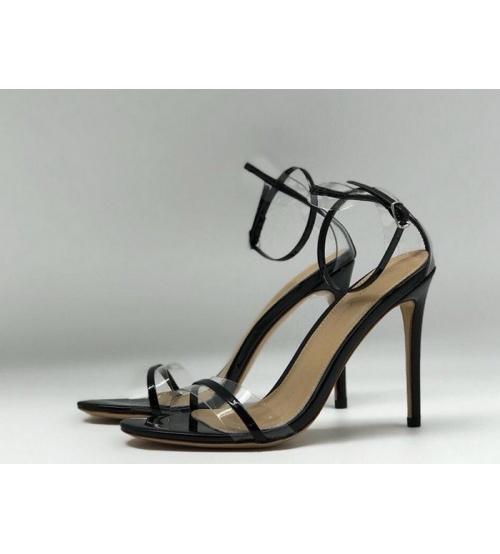 Женские босоножки Gianvito Rossi (Джанвито Росси) Marie кожаные Black