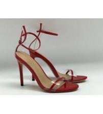 Женские босоножки Gianvito Rossi (Джанвито Росси) Marie кожаные Red