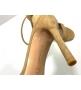 Босоножки женские Gianvito Rossi (Джанвито Росси) Portofino летние кожаные каблук шпилька Beige