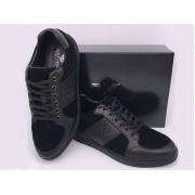 Мужские кроссовки Giorgio Armani (Джорджио Армани) замшевые Black