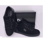 Мужские кроссовки Giorgio Armani (Джорджио Армани) замшевые на шнурках Black