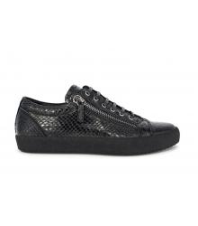 Осенние ботинки Giuseppe Zanotti Alligator Zipper Black